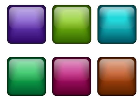 Square button set