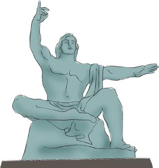 평화 기념 동상