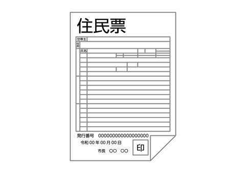 Resident card image