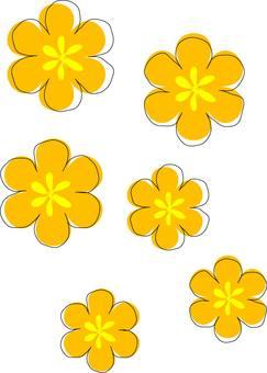 Rough flowers
