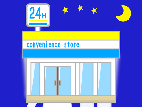 Night convenience store
