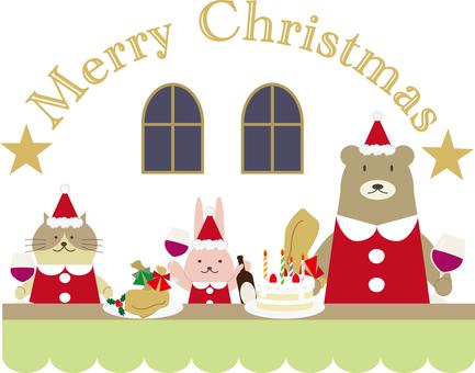 聖誕節材料16(派對)
