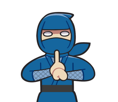 Ninja who marks the mark