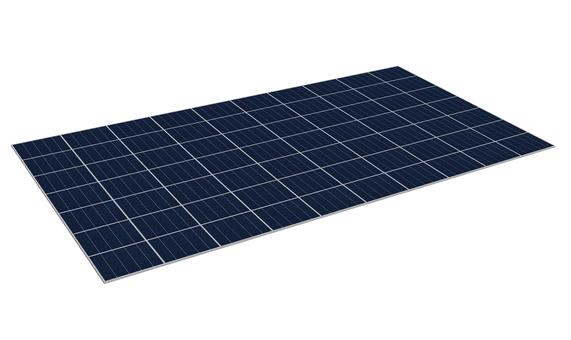 Solar panel / real CG