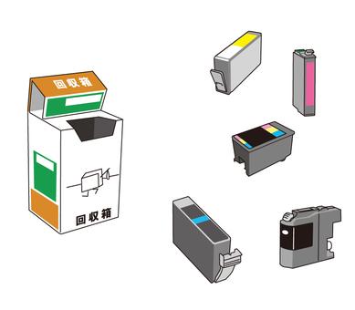 使用的墨盒