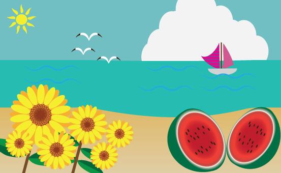 한여름의 풍경
