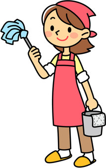 Housewife to clean
