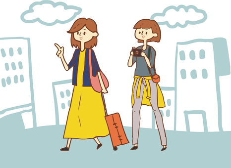Women travel tourism