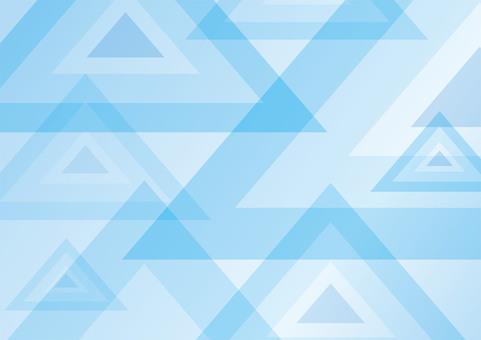 Better summer Blue Triangular geometric pattern ☆ Background picture
