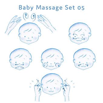 Baby massage set 05