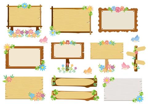 Message Board _ Spring Frame _ Set