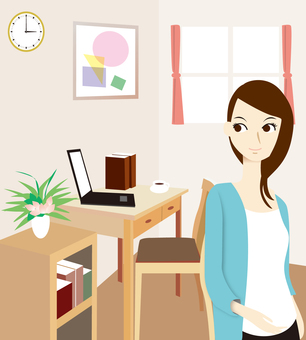 Female room home work