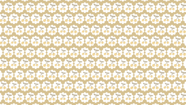 Light brown cherry early summer background