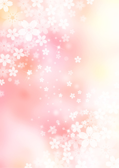Cherry blossoms _ background _ vertical