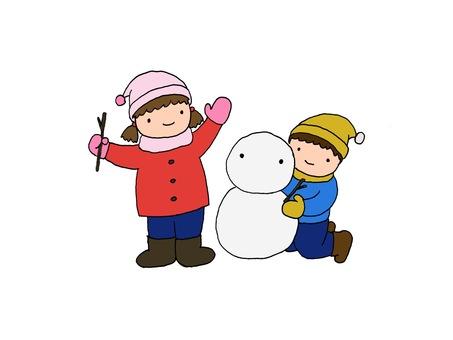 Snow Play (Snowman)
