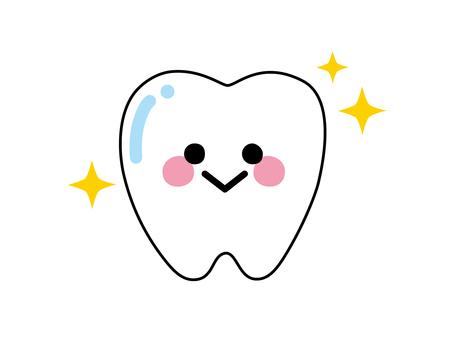 Large teeth 3 white