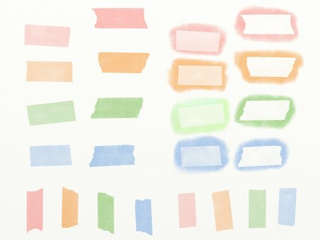 Master sticky note pastel color 4 colors