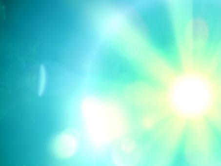淡藍色的光
