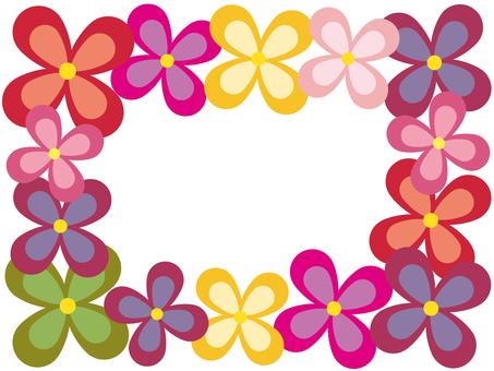 Flower frame _ 01