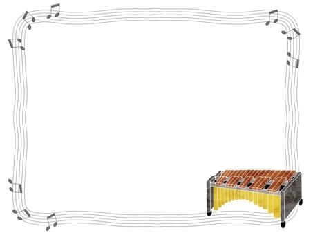 Marimba frame