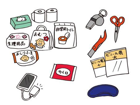 Disaster prevention goods 09