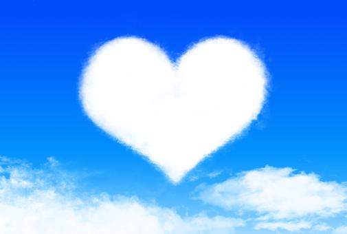 Big heart cloud