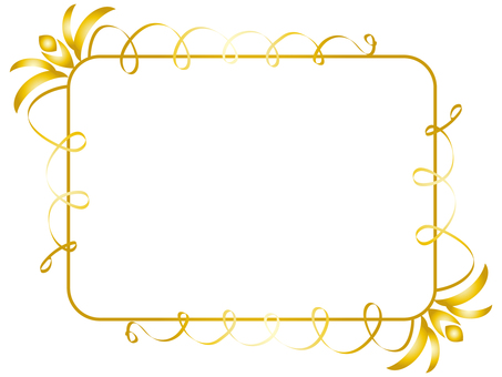 Classical frame 3 gold