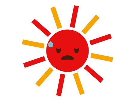 태양 기상 이변 이미지