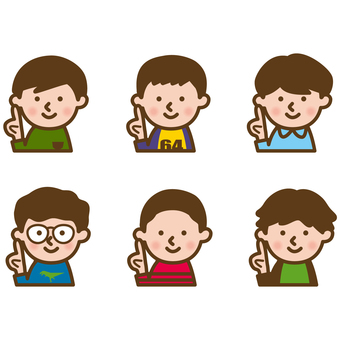 Various boys