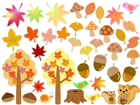 Autumn Icon Set 2