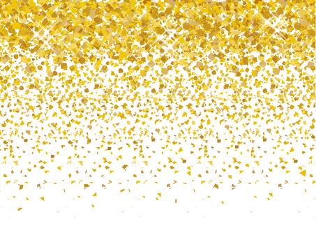 Glitter gold gold leaf gold