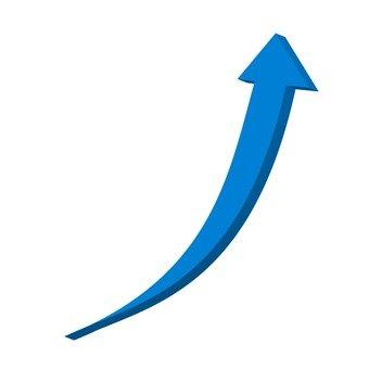 箭頭(藍色)