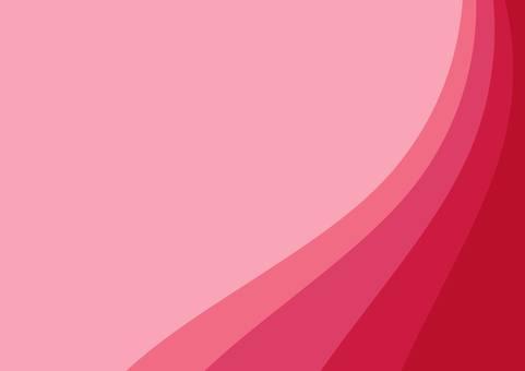 Illustration of a wave background (pink)