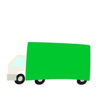 トラック横