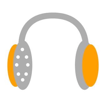 Headphone (orange)
