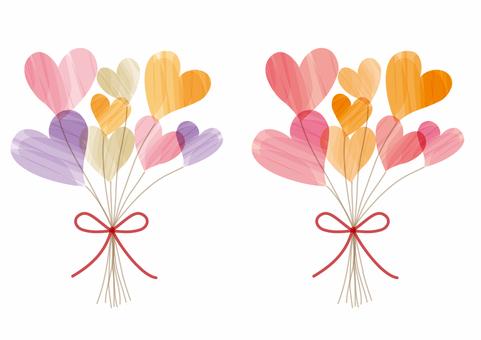 2 çeşit kalp çiçeği