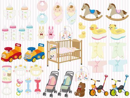 Baby goods set