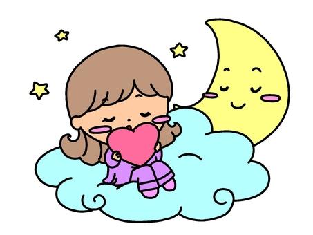 In a fluffy dream ...