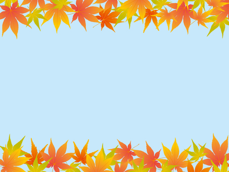 Autumn leaves background material