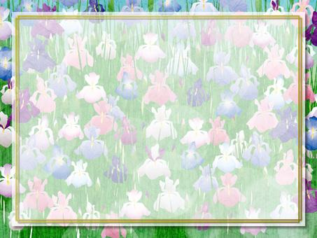 Flower flower frame 03