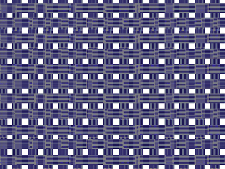 Pattern check (navy)