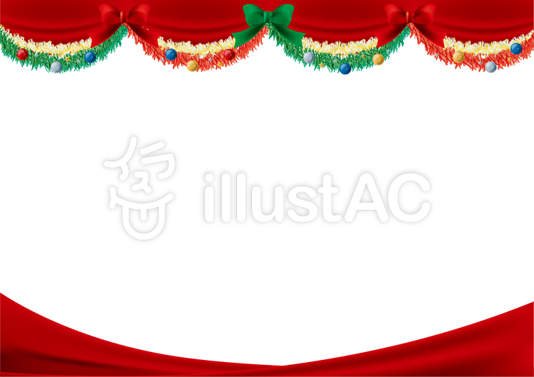 クリスマスフレームイラスト No 614305無料イラストならイラストac