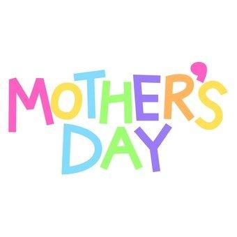 母親節徽標