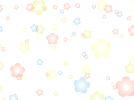 PNG by _ 梅 / 桜 Plum / Cherry