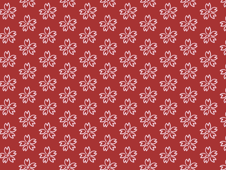 Chiyogami Sakura (red)