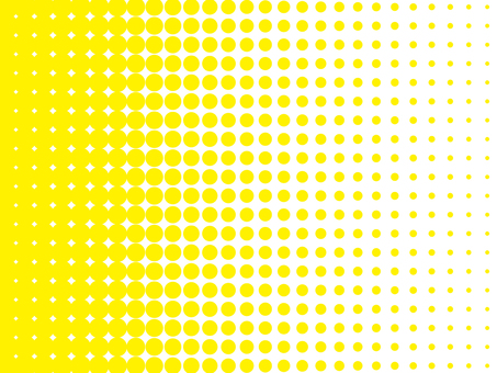 Background material of color halftone (yellow)