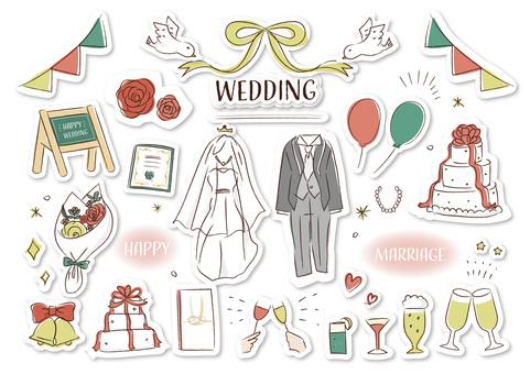 wedding wedding seal style