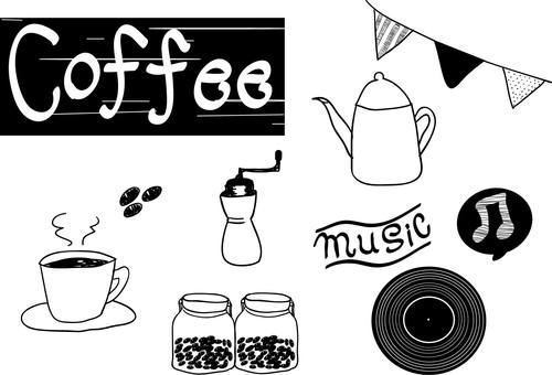Various coffee materials