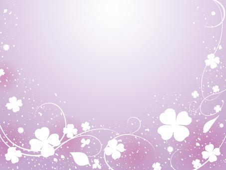 Background purple - Clover