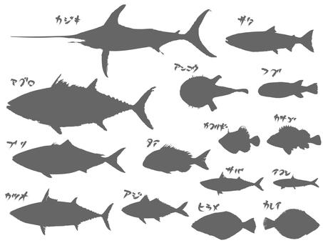 魚清單_剪影